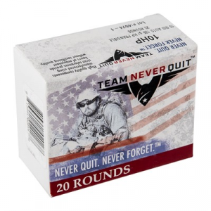 Team Never Quit Frangible Hp Ammo 10mm Auto 125gr Hp