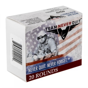 Team Never Quit Frangible Hp Ammo 40 S&W 125gr Hp