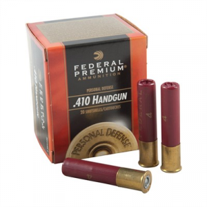 "Federal Premium Personal Defense Ammo 410 Bore 2-1/2"" 7/16 Oz #4 Shot"