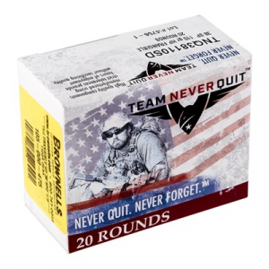 Team Never Quit Frangible Hp Ammo 38 Special +p 110gr Hp
