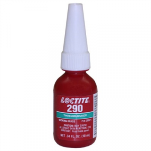 Loctite Medium-High Strength Green #290 Threadlocker