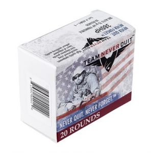 Team Never Quit Frangible Hp Ammo 380 Auto 75gr Hp