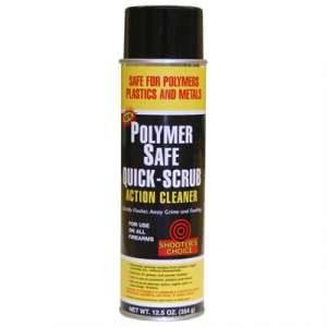 Shooters Choice Polymer Safe Quick-Scrub Action Cleaner
