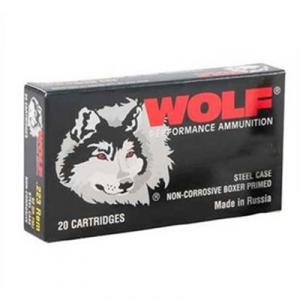 Wolf Polyforamnce Ammo 5.45x39mm 60gr Fmj