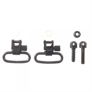 Uncle Mikes Ss Bl Loop Swivel Set