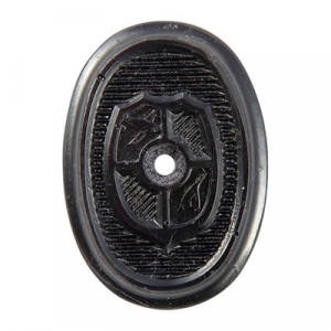 N.C. Ordnance Rifle Coat Of Arms Grip Cap
