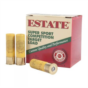 "Estate Cartridge Inc. Super Sport Competition Ammo 20 Gauge 2-3/4"" 7/8 Oz #7.5 Shot"