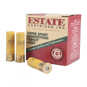 "Estate Cartridge Inc. Super Sport Competition Ammo 20 Gauge 2-3/4"" 7/8 Oz #8 Shot"