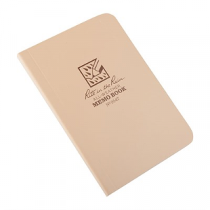 Rite In The Rain All-Weather Memo Book-Tan