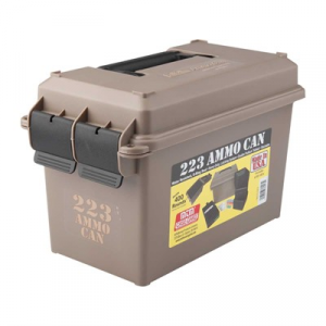 Mtm Ammo Can 223 Polymer Tan