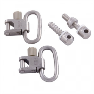 Uncle Mikes 115 Nickel Plated Swivel Set