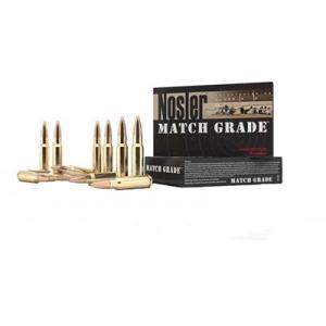 Nosler, Inc. Match Grade Ammo 223 Remington 60gr Ballistic Tip