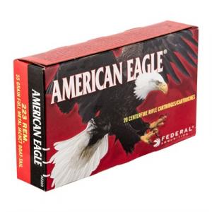 American Eagle American Eagle Ammo 223 Remington 55gr Fmj-Bt