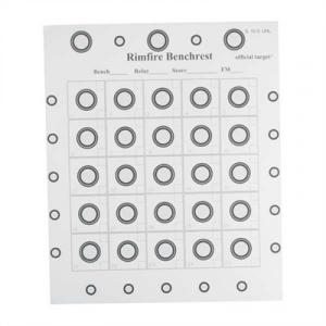 Rba Rimfire Targets - 25 Pack