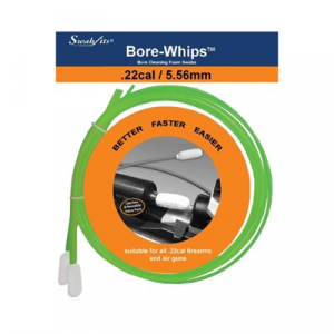 Swab-Its By Superbrush Bore-Whips By Swab-Its - .22 Cal