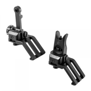 Knights Armament Ar-15 45 Degree Offset Folding Sight Set 300 Meter