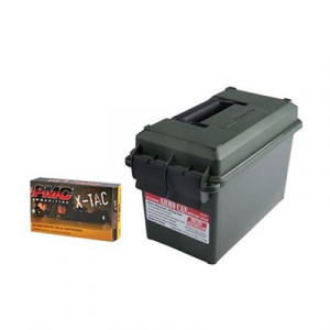 Pmc Ammunition, Inc. X-Tac Ammo 5.56x45mm Nato 62gr Ss109 Fmj Ammo Can