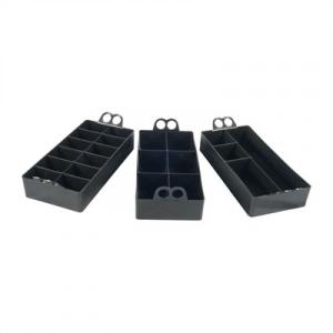 Mtm Ammo Can Organizer Polymer Black