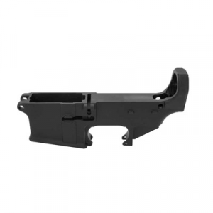 Anderson Manufacturing Ar-15 80% Lower Receiver Black Anodized