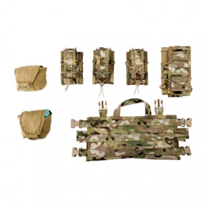 Image of High Speed Gear, Inc. Chest Rig Quick Response Chest Combo