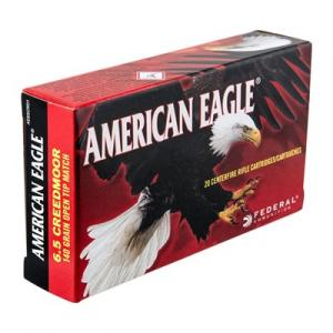 American Eagle American Eagle Ammo 6.5mm Creedmoor 140gr Otm