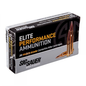 Sig Sauer Elite Match Grade Ammo 223 Remington 77gr Otm