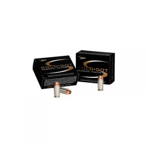 Speer Gold Dot Ammo 40 S&W 165gr Hollow Point
