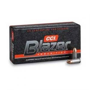 Cci Blazer Ammo 9mm Luger 124gr Fmj-Rn