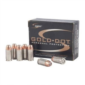 Speer Speer Gold Dot Ammo 380 Auto 90gr Hp
