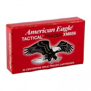 Federal American Eagle Ammo 5.56x45mm Nato 62gr Xm856 Tracer