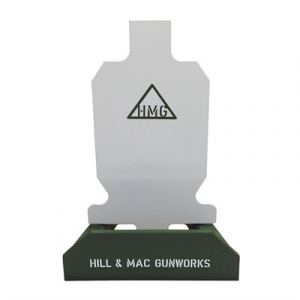 Hill & Mac Gunworks Steel Rifle Target System 2/3 Ipsc