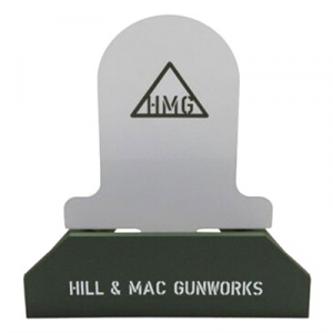 Hill & Mac Gunworks Steel Rifle Target System Tombstone