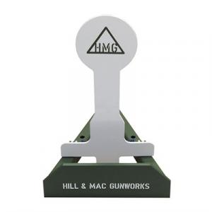 Hill & Mac Gunworks Steel Pistol Target System 8in Round