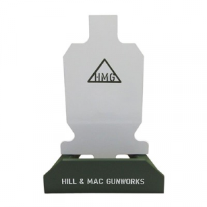 Hill & Mac Gunworks Steel Pistol Target System 2/3 Ipsc