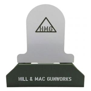 Hill & Mac Gunworks Steel Pistol Target System Tombstone