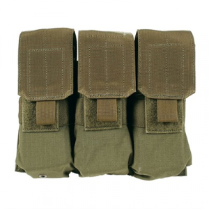Blackhawk Industries Ar-15 Strike Triple Mag Pouch Holds 6