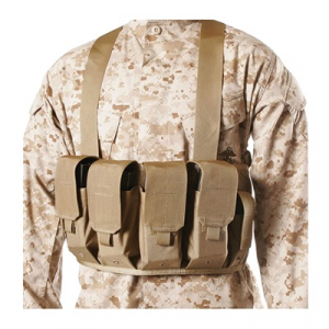 Blackhawk Industries Ak-47 Chest Pouches 4 Mags & 2 Pistol