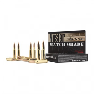 Nosler, Inc. Match Grade Ammo 308 Winchester 155gr Custom Competition