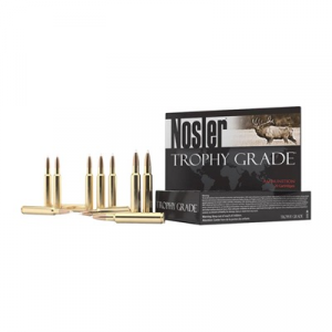 Nosler, Inc. Trophy Grade Ammo 30-378 Weatherby Magnum 210gr Accubond Lr