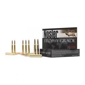 Nosler, Inc. Trophy Grade Ammo 300 Weatherby Magnum 180gr Accubond