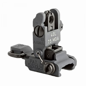 A.R.M.S.,Inc Ar-15 40l Low Profile Rear Sight