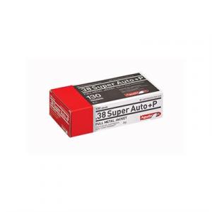 Aguila Handgun Ammo 38 Super +p 130gr Handgun