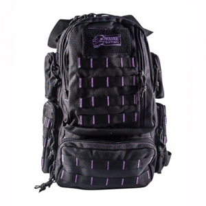 Voo Doo Tactical Mini Tobago Pack Black With Purple Stitching