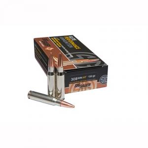 Sig Sauer Elite Hunting Ammo 308 Winchester 150gr Ht