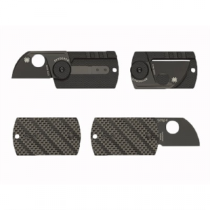 Spyderco Dog Tag Folder Carbon Fiber