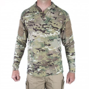 Velocity Systems Boss Rugby Shirt Long Sleeves