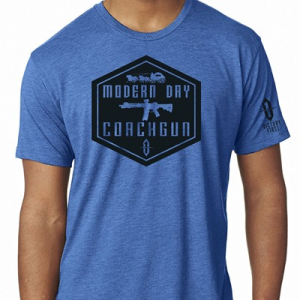 Victory First/Victory Wear Men's Shield Style Modern Day Coachgun T-Shirts