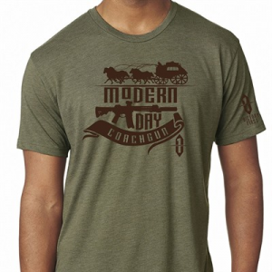 Victory First/Victory Wear Men's Old West Style Coachgun T-Shirts