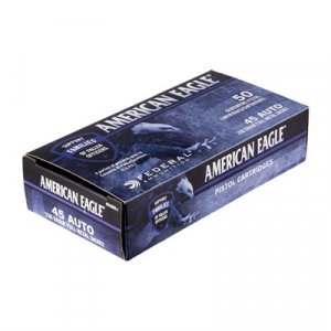 Image of Federal American Eagle Cops Ammo 45 Acp 230gr Fmj
