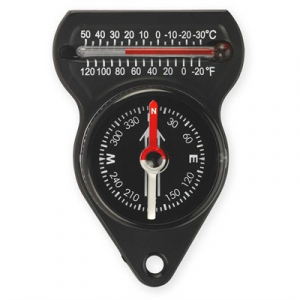 Ndur Mini Compass With Thermometer